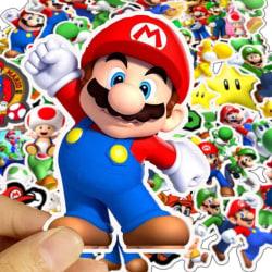 50-pack Super Mario Bros. | Klistermärken