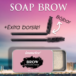 Soap Brows   2 x borstar   Forma Ögonbryn