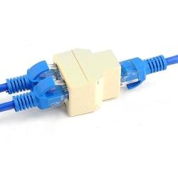 RJ45 1 till 2 Ethernet-anslutningssplitter