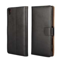 iCoverCase | Sony Xperia Z5 Premium | Plånboksfodral Svart