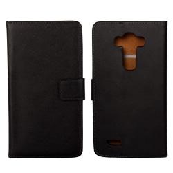 iCoverCase | LG G4 | Plånboksfodral  Svart