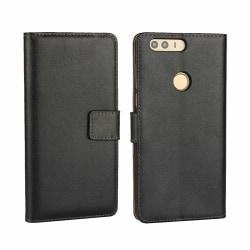 iCoverCase - Huawei Honor 8 plånboksfodral  Svart