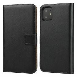 iCoverCase | iPhone 11 Pro | Plånboksfodral  Svart
