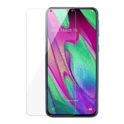 iCoverCase | Samsung Galaxy A20 | 2-Pack Skärmskydd  Transparent