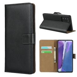 iCoverCase | Samsung Galaxy Note 20 | Plånboksfodral   Svart