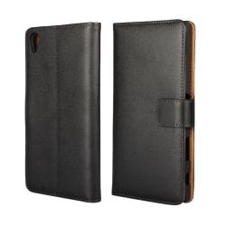 iCoverCase   Sony Xperia Z5 Premium   Plånboksfodral  Svart