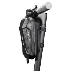 Vattentät förvaringsväska Fronthängande väska elektrisk skoter Svart 3L