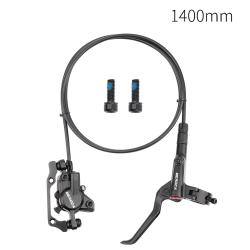 Cykelhydraulisk skivbroms MTB fram- och bakcykeloljeskiva Svart Bakbroms