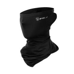 Ice Silk Mask Tube Scarf Balaclava Neck Gaiter Bandana Headwear Black