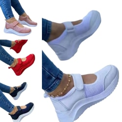 Kvinnors höjdökande skor sportskor casual skor Djupblå 38