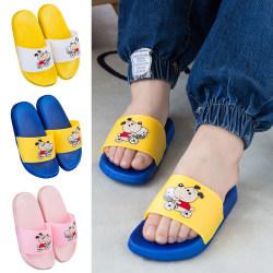 Unisex flicka pojke söta tofflor halkfria sandaler sandaler Rosa 24/25
