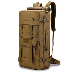 Ryggsäcken i siltstart tyg, 55x30x19 cm Olive one size