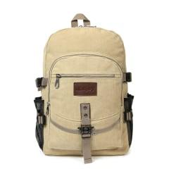 Snygg ryggsäcken i slitstark tyg Beige one size