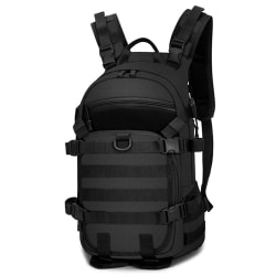Stor ryggsäcken i svart, MAJ-45x32x17 cm Svart one size