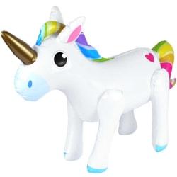 Uppblåsbar unicorn 53 x 35 cm enhörning