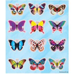 Fjärilar 96 st klistermärken klistermärke djur