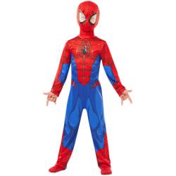Spiderman dräkt 110/116 cl (5-6 år) spindelmannen