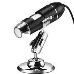 Digitalt USB-mikroskop med 50 till 1600 förstoringszoom