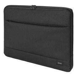 """DELTACO Laptop sleeve för laptops upp till 12"""", svart"""