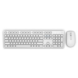 Dell KM636 Standard, Trådlös, Tangentbordslayout EN, Vit, Mus