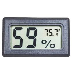 Mini LCD Hygrometer / Termometer Grå