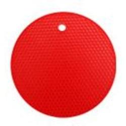 Värmetåligt underlägg silikon Röd