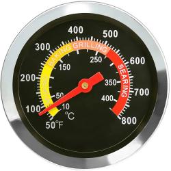 Analog stektermometer för grill & ugn Rostfritt stål 6x73 mm