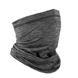 Ansiktsskydd / scarf med UV-skydd Grå (one size)
