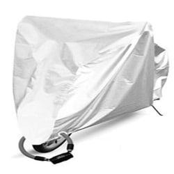 Cykelöverdrag, regnskydd och UV-skydd - Silver