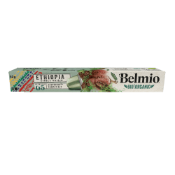 Belmoca Belmio Sleeve BIO/Single Origine Ethiopia Kaffekapslar f
