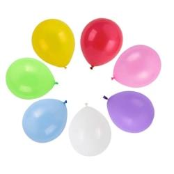 Ballonger latex 100-pack blandade färger