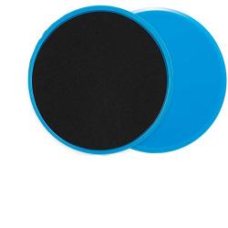 Core Slider glidplattor 2-pack Blå
