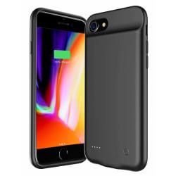 iPhone 6/6s/7/8 batteriskal 3000 mAh Svart