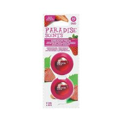 Billuftfreser Paradise Scents Jordgubbe Duo (2 uds)