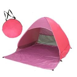 Strandtält pop-up UV 40+ Rosa
