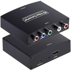 HD video konverter - YPbPr och L/R Audio till HDMI-omvandlare