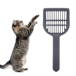 Kattspade / skopa för kattsand Grå