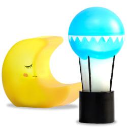 Lampset Måne+Ballong