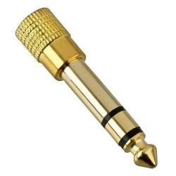 Ljudadapter - 3.5 mm till 6.5 mm