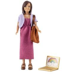 Mamma med dator & väska