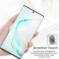 Skärmskydd Samsung Galaxy Note 10 Härdat glas Svart