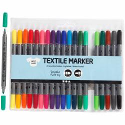 Textiltusch, standardfärger