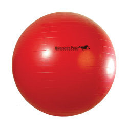 Horsemens Pride Jolly Mega Ball Horse Toy 25in Red Red 25in