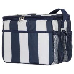 Trespass Nukool Stor cool väska (15 liter) One Size Marinblå ran Navy Stripe One Size