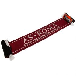 AS Roma Champions League Halsduk 132 x 16 cm Röd / Svart / Vit Red/Black/White 132 x 16cm