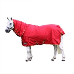 Battles Original 200 Combo Neck Horse Turnout Rug 6´ 0 Red/Dark Red/Dark Red/Yellow 6´ 0