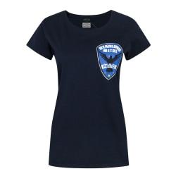 Arrow Kvinnor/damer Starling City Metro Police T-shirt XL Blå Blue XL