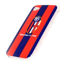 Bologna FC officiella iPhone 4 hårt fotbollsväska telefonfodral ett Red/Blue One Size