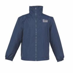 Shires Unisex ridjacka för vuxna med logga XL Navy XL