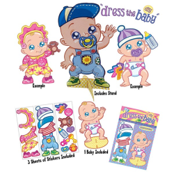 Alandra Dress The Baby Stickers Game One Size May Varierar May Vary One Size